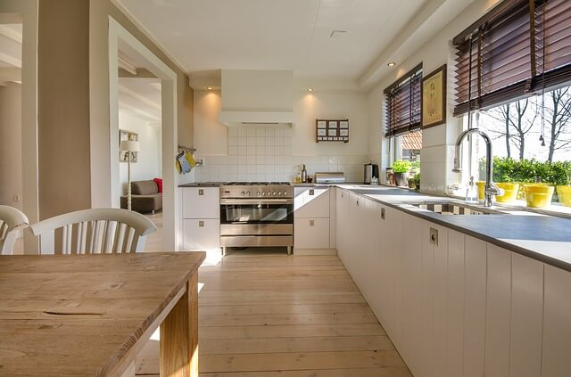 kitchen with laminate flooring gloucester